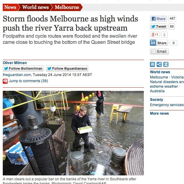 Melbourne Floods