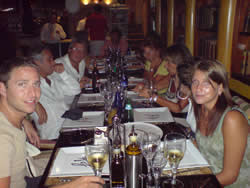 Dinner in the Port