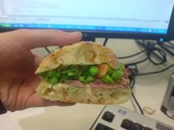 Pea Sandwich