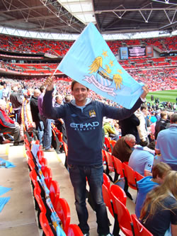 Manchester City FA Cup Final 2011
