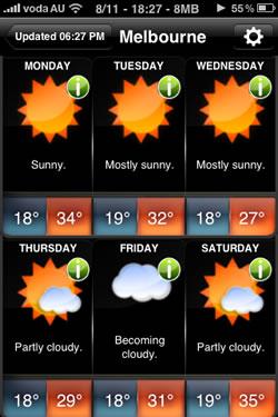 November Melbourne Heat Wave