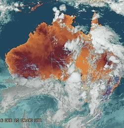 Melbourne Weather Satellite