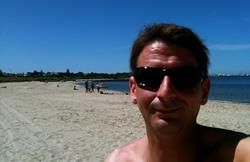simon donn brighton beach melbourne december 2010