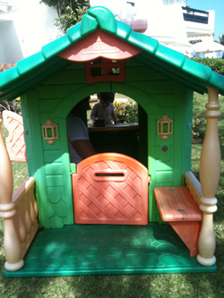 beach play house