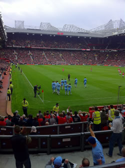 Manchester United 1 - Manchester City 6
