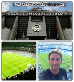 Real Madrid Manchester City Bernabeu