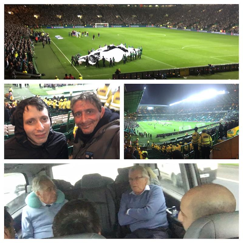 Celtic in Glasgow