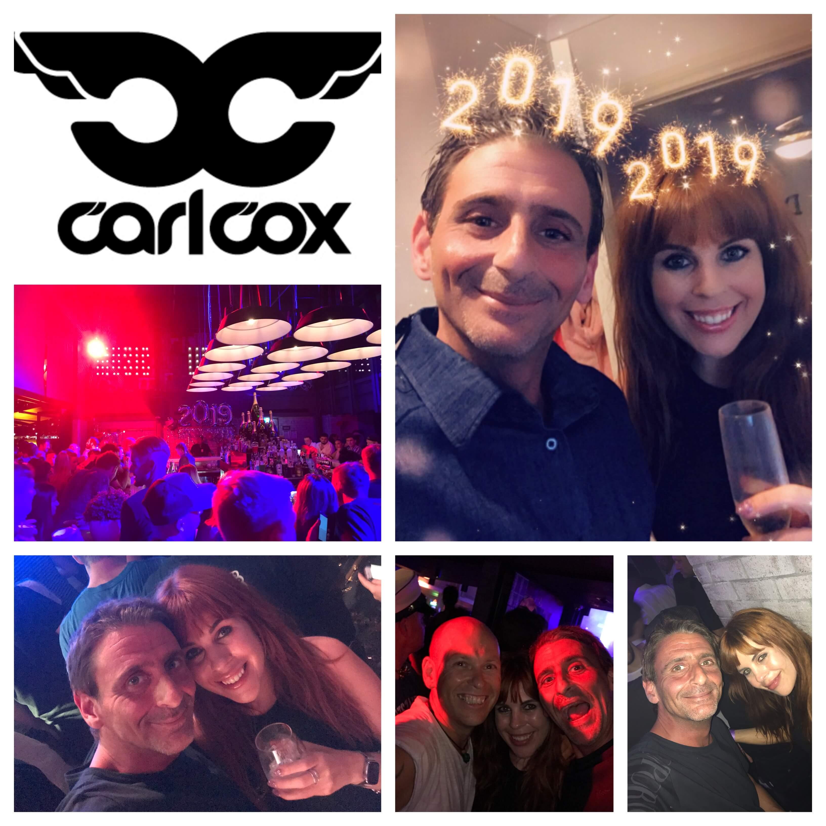 Carl Cox NYE 2018