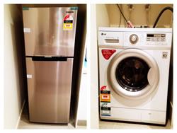 New Fridge and Washing Machine