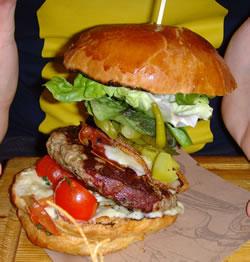 Jamie Oliver Italian Burger Leeds