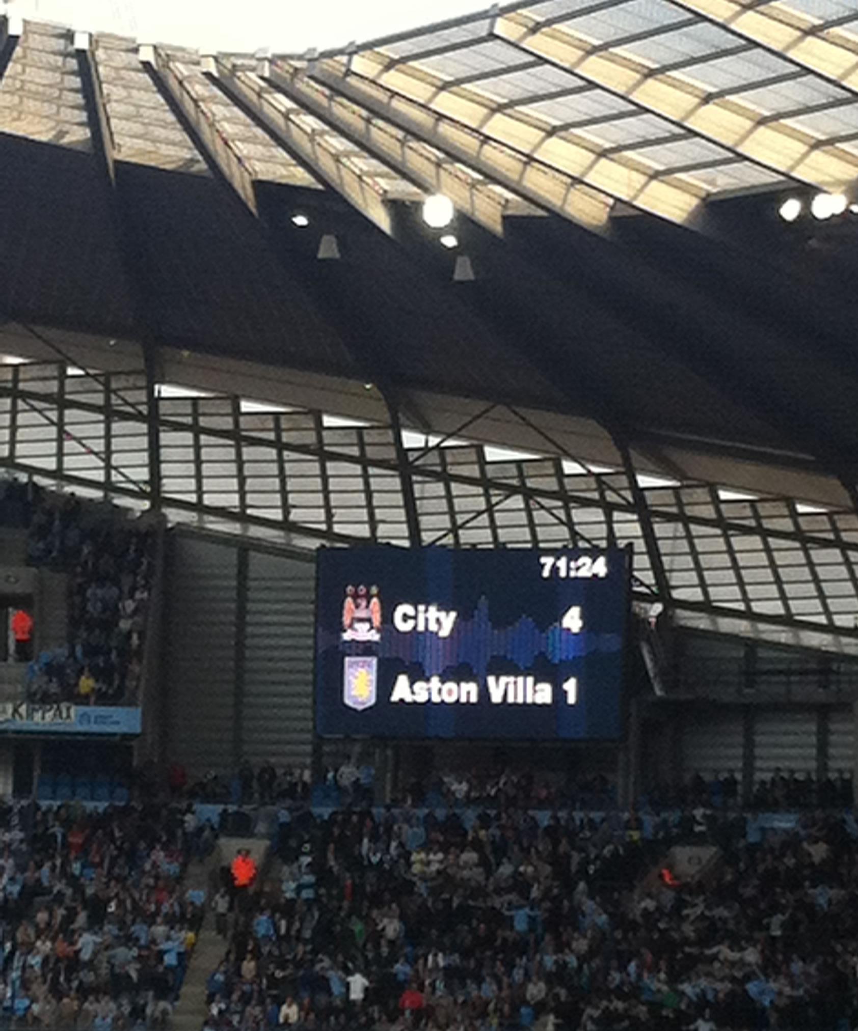 Aston Villa,Manchester City