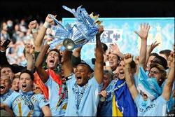 Manchester City Premier League Champions 2012