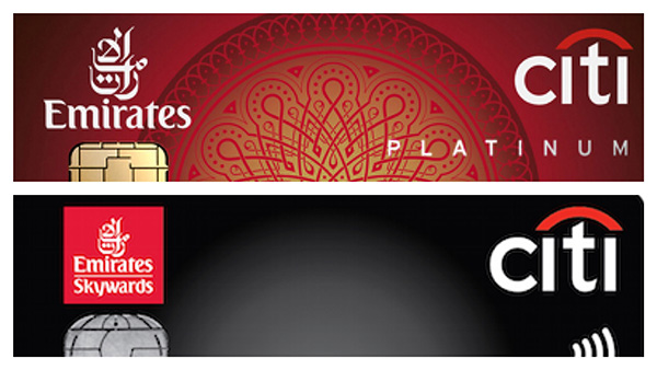 citibank emirates world credit card