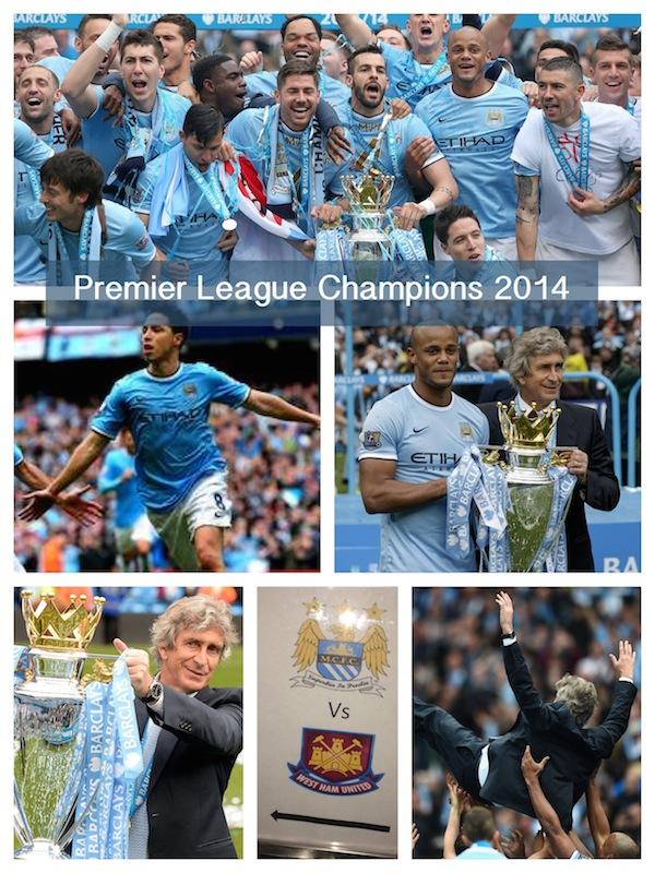 Manchester City English Champions