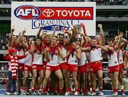 Melbourne AFL Final 2005