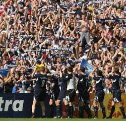 Melbourne Victory vs Sydney FC