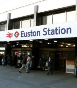 Euston Train Station Delays