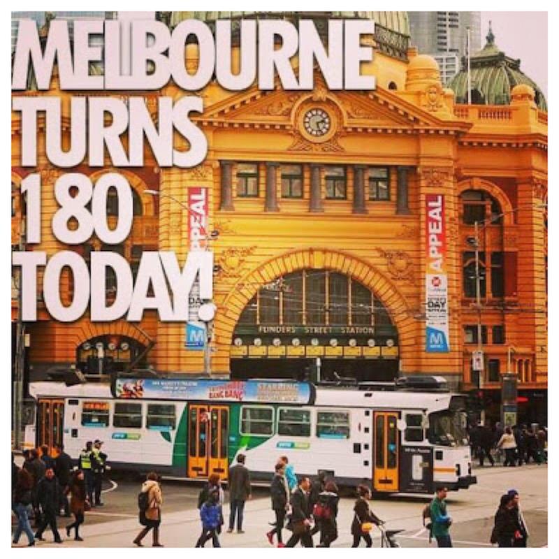 Happy 180th Birthday Melbourne