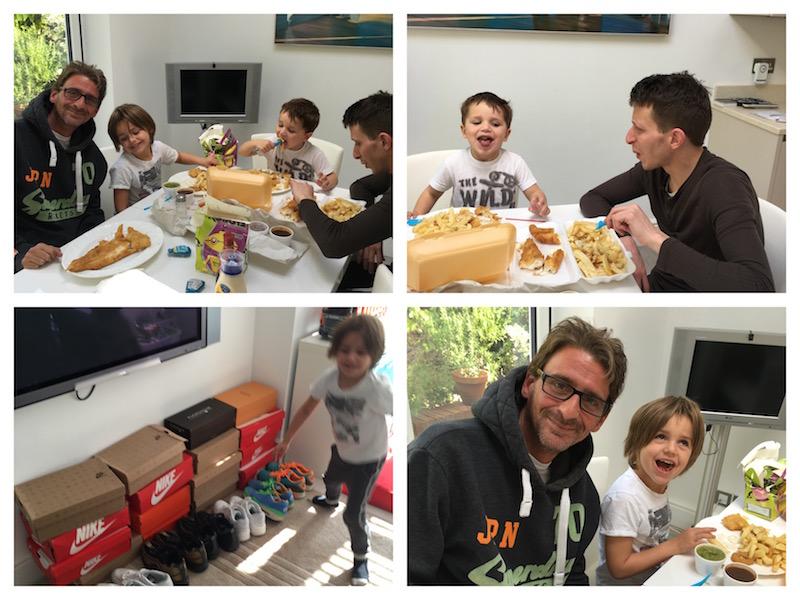 Boys Lunch
