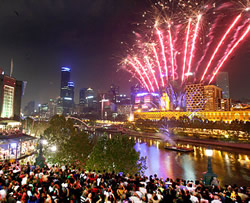 New Year Southbank