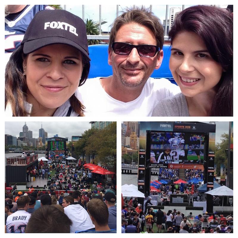Super Bowl Foxtel Crown Melbourne